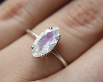 12x6 Marquise Moonstone Ring