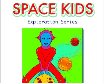 Space Kids Coloring Book Folio Exploration Series