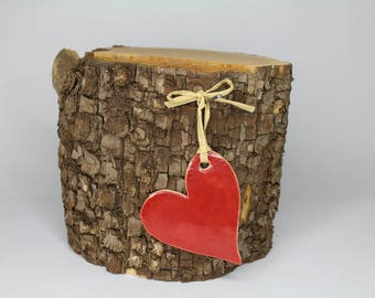 Red Ceramic Heart - Have a Heart!