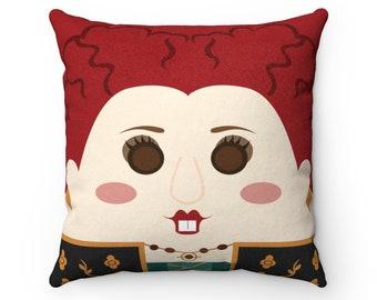 Winifred Sanders, Hocus, Pocus, Throw Pillow