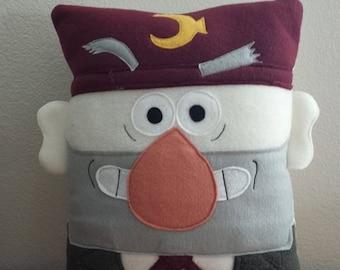Gravity Falls, grunkle stan, Dipper, Mabel, pillow, plush, cushion