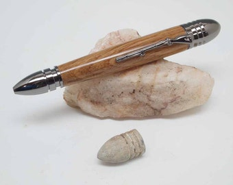 """Civil War Pen hand made with the wood from the """"Stonewall"""" Jackson Prayer Tree"""