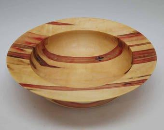 Flame Box Elder Bowl