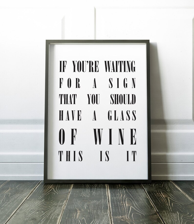If you're waiting for a sign that you should have a glass image 0