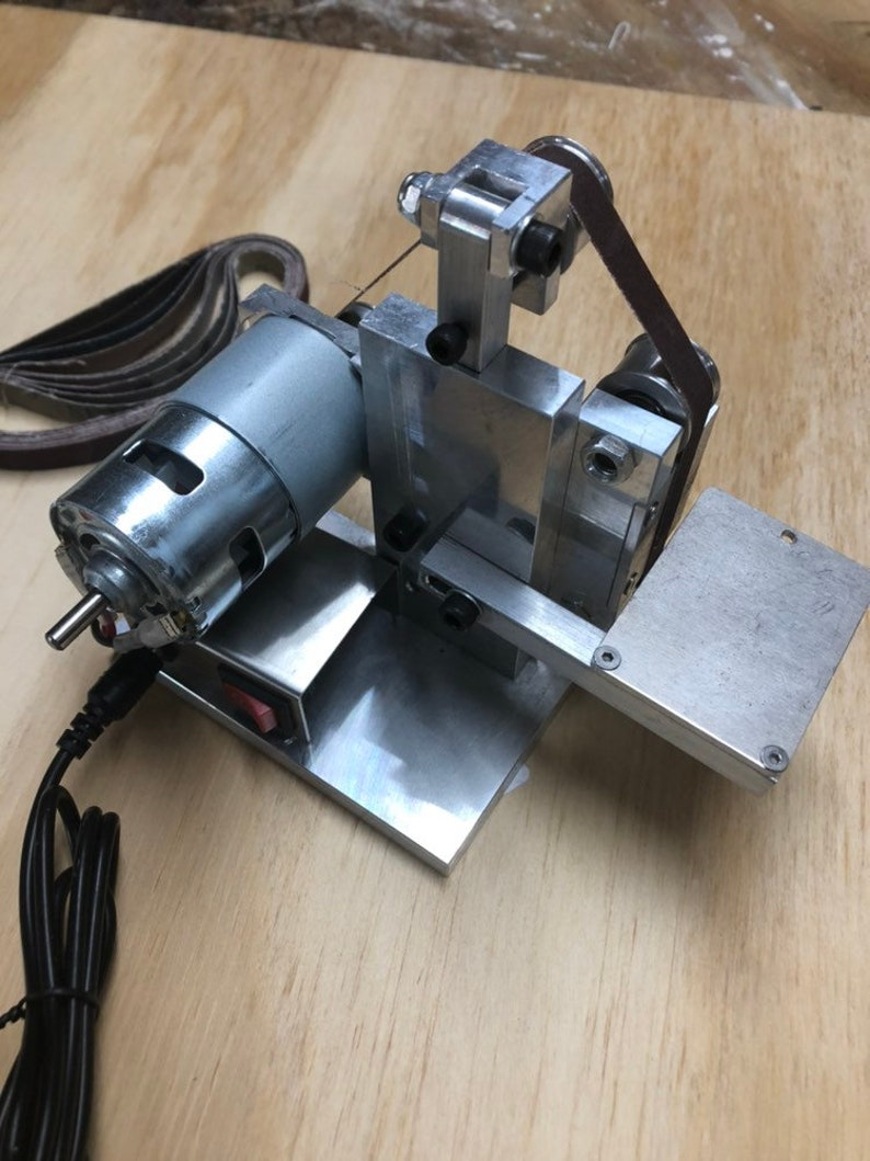Mini Belt Sander Grinder Polisher Jewelry making knife sharpener