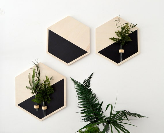 Wand Blumentopf hängeampel Pflanzen Wand Pflanzen Wand | Etsy