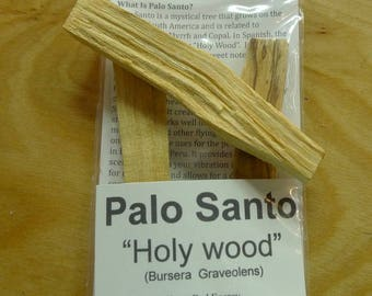 Smudge: Fresh Palo Santo Wood Trio Brings Positivity To Your Home & Spaces