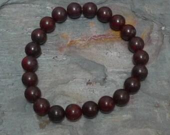 BRECIATTED JASPER Chakra Stretch Bracelet All Natural Semi-Precious Stones Healing Metaphysical