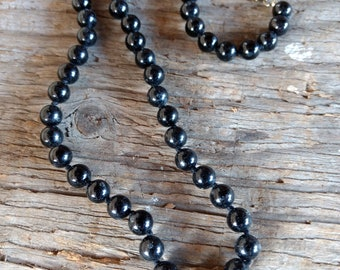 BLACK TOURMALINE Chakra Necklace Bracelet Earrings All Natural Semi-Precious Stones Healing Metaphysical