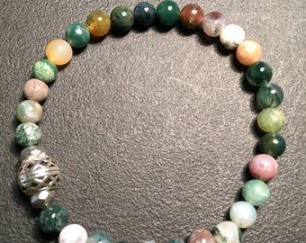 Mens Green Mutlicolor Bracelet
