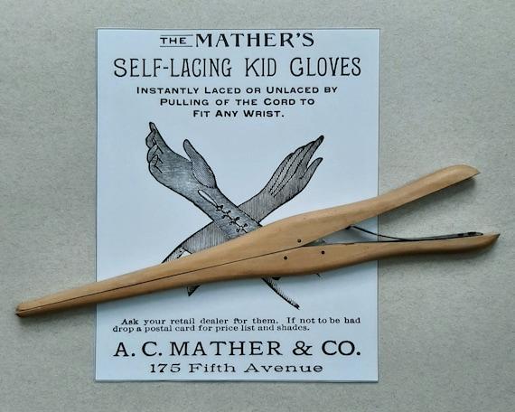 Wood Glove Stretcher. Vintage Antique 1910s 1920s. - image 1