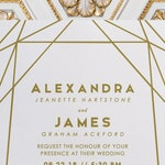 modern gold wedding invitations, gold foil print wedding invitations, gold wedding invitation template, foil stamped invitations, foil print