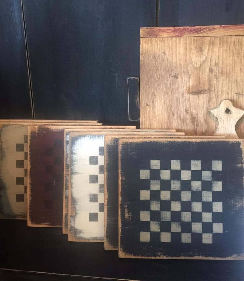 Primitive Checker Board