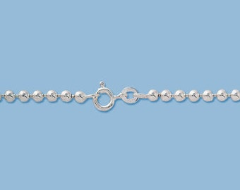 Sterling Silver 3 mm Ball chain