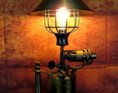 Swedish Antique blow torch lamp another original from The Steamworks