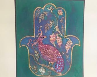 Garden of Eden Hamsa #1