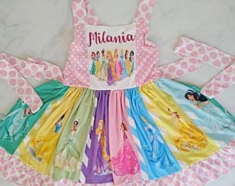 Disney Princess Dress Etsy