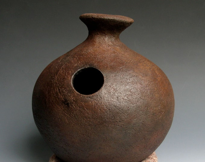 Dark Earth Ceramic Udu Drum