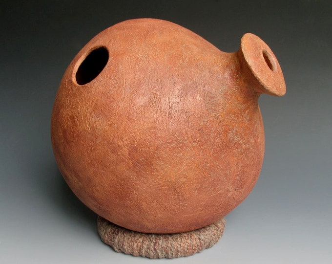 Golden Earth Ceramic Udu Drum