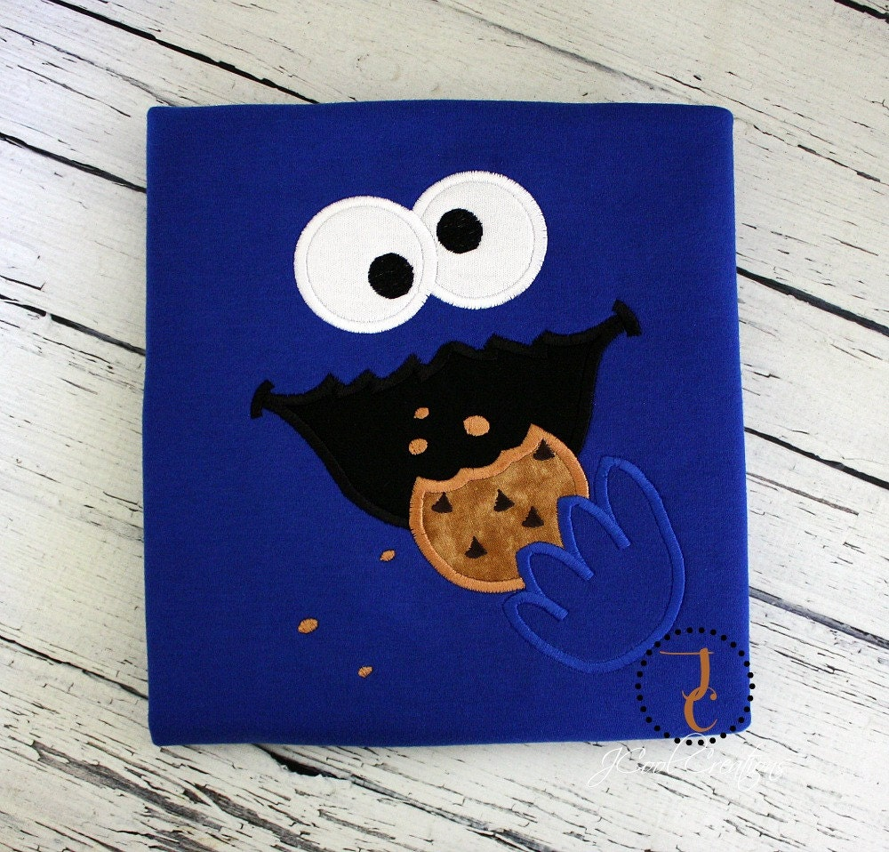 Cookie Monster Shirt Cookie Monster Birthday Cookie