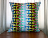 Cushion cover- Scallops (16x16)