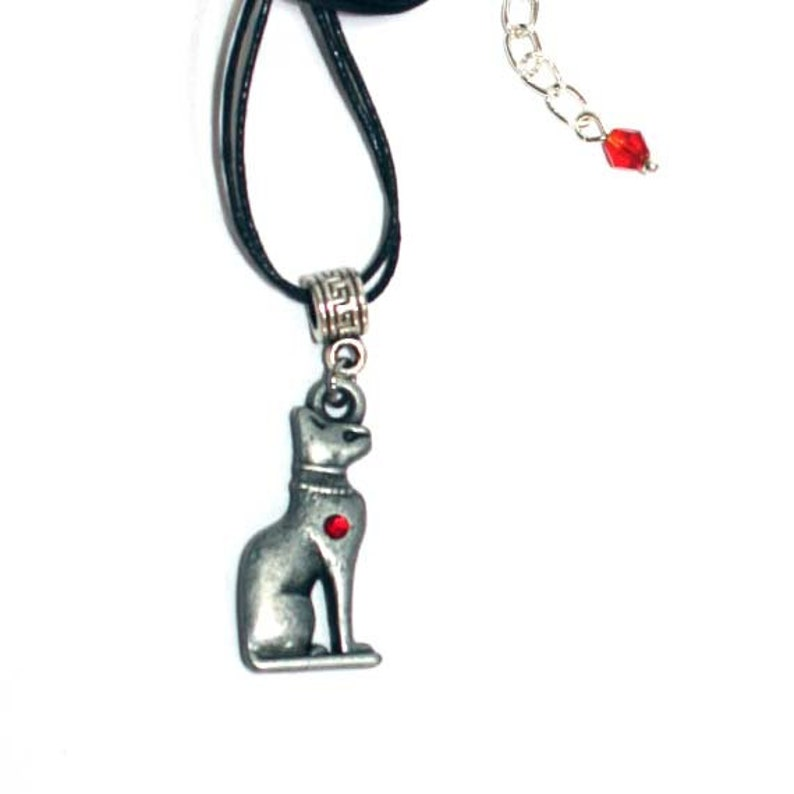 Bastet Cat Pendant protection fertility motherhood jewelry Egyptian symbol  of home protection birthday gift Unisex anniversary cat pendant