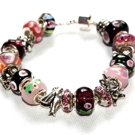 Charm Bracelet Nature Teen Girl Gift For Her Girlfriend