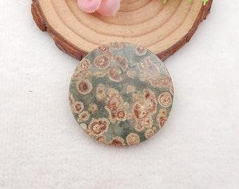 35x3mm Rose Quartz Gemstone Cabochon 7.8g Y6646 New Stone For Jewelry DIY Making