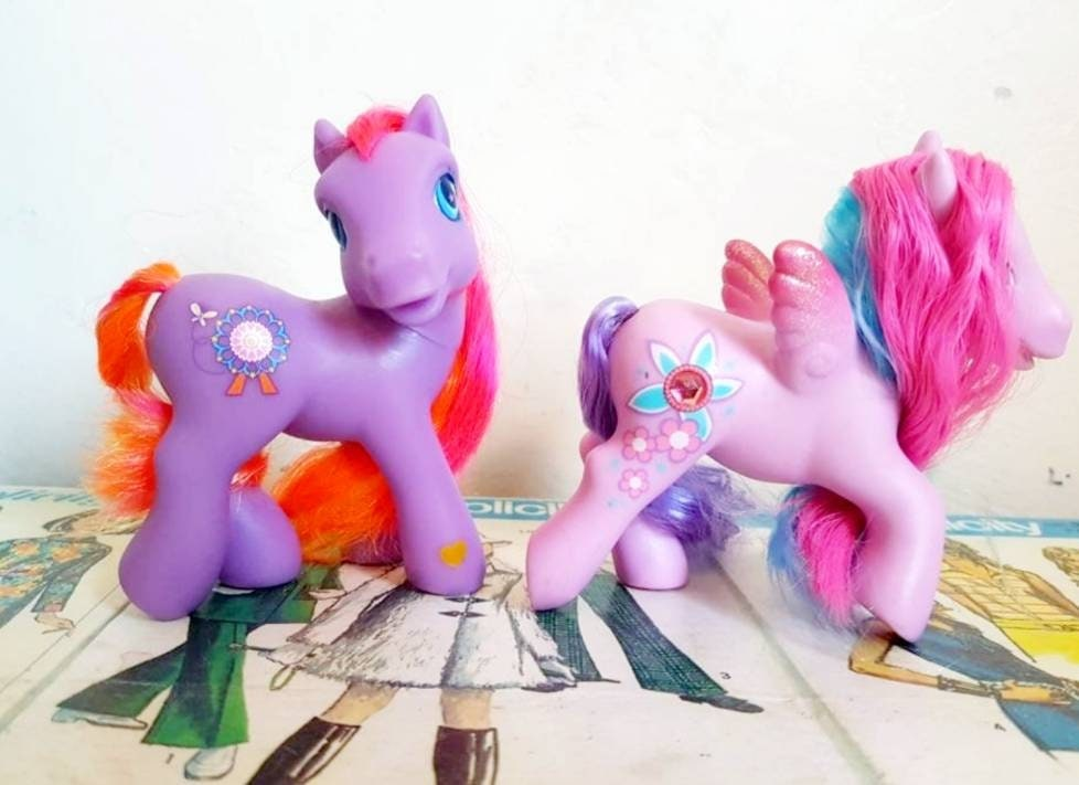 Orange Art You Choose Wish-I-Might ++ My Little Pony G1 /& G3 Ponies Bride