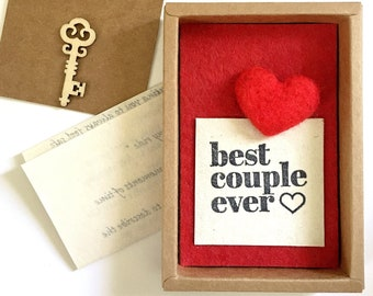 Meaningful Paper Anniversary gift for husband, wife, Sentimental gift for him, Romantic gift for her. Personalized love letter in a box