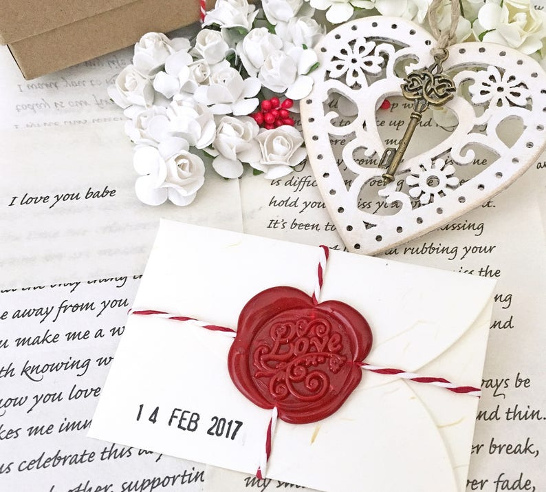 05c6735356717 Girlfriend gifts Valentines Day personalized love letter