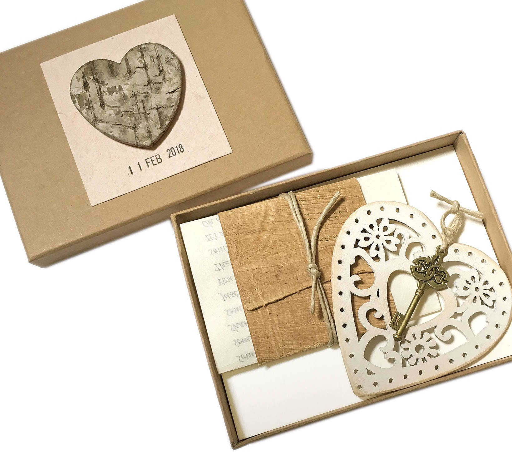 5 Yr Wedding Anniversary Gift: Wood Anniversary Gift For Wife 5 Year Wedding Anniversary