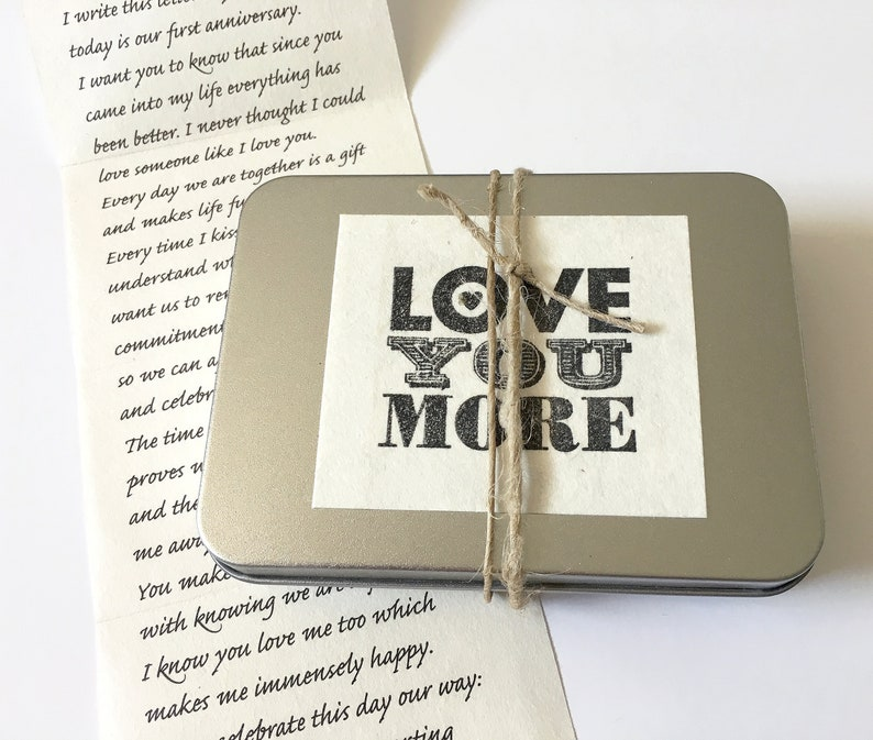 Personalized Birthday Gift For Boyfriend Your Love Letter