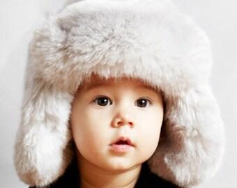 Tissavel Faux Fur Baby Trapper - Unisex