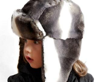 Tissavel Faux Fur Kids Trapper - Unisex