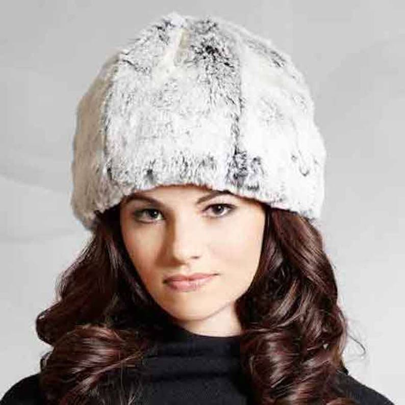 Tissavel Faux Fur Cloche in Snowball image 0