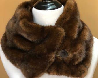 Faux Fur Mink Collar