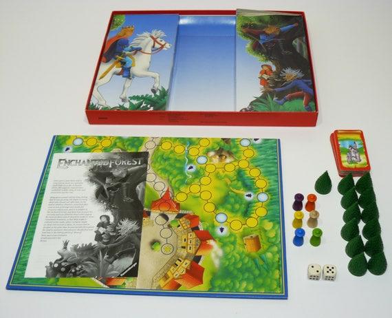 Ravensburger sagaland comido juego de mesa juego juegos de niños dados clásico