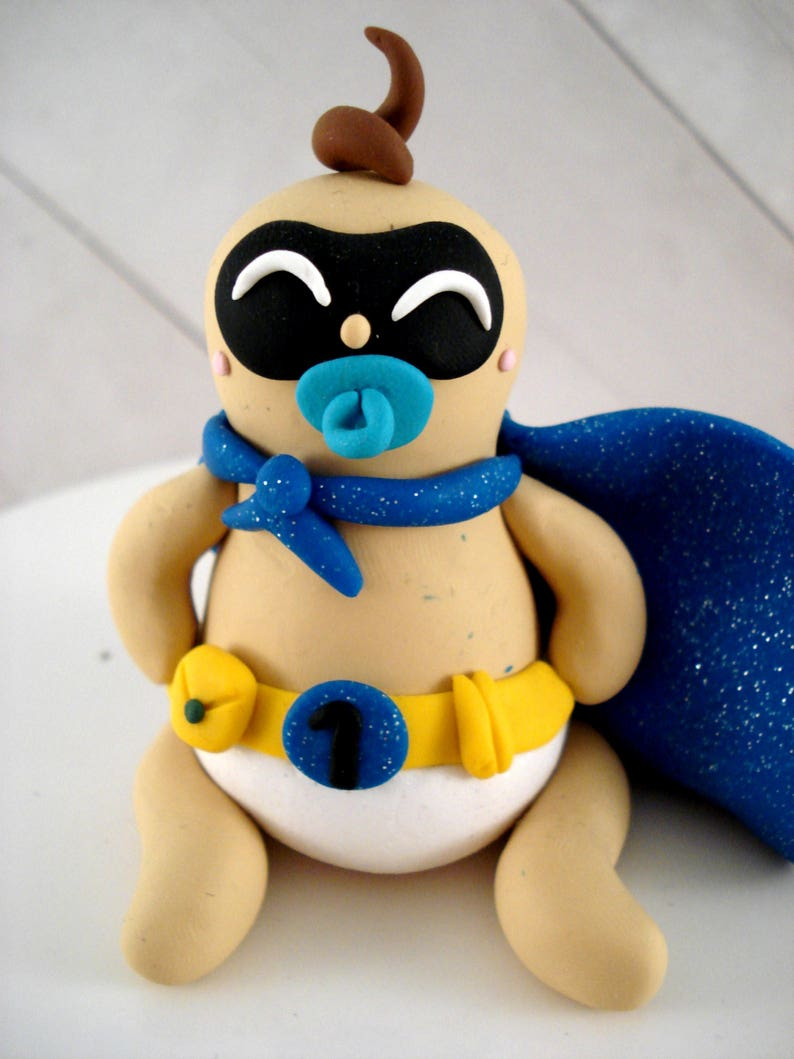 Boys Superhero Cake Topper Its a Boy Baby Shower Decoration First Birthday Party Superhero Party Decorations
