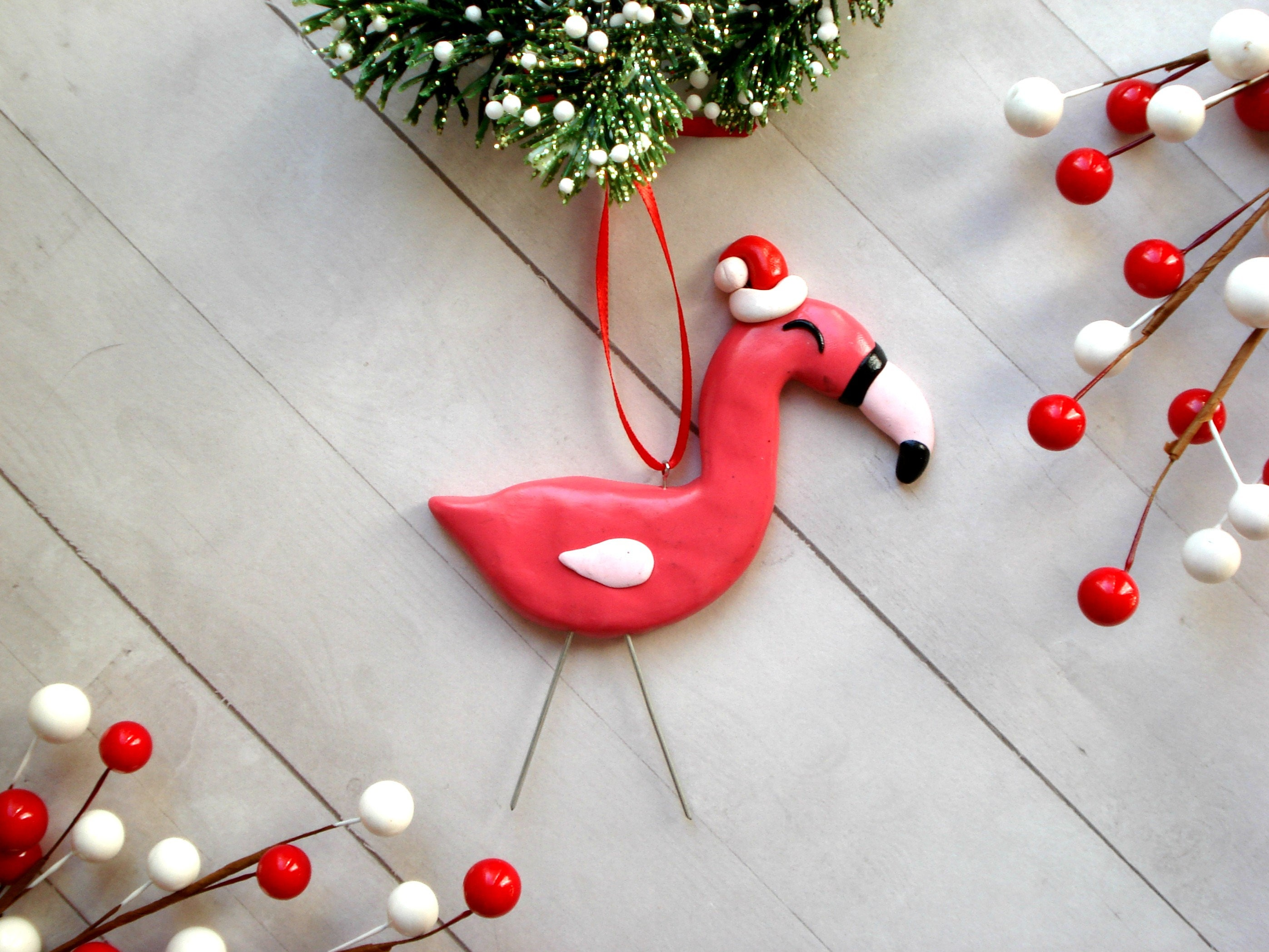 Flamingo Christmas Ornament Flamingo Ornament tropischen | Etsy