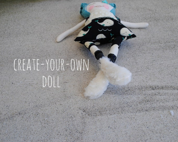 Featured listing image: create-your-own aubreyplays one of a kind doll