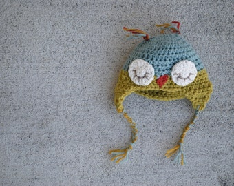 owl doll hat. add on item