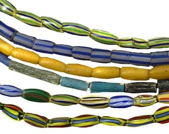 Antique Venetian blue Water Melon beads V 864