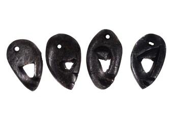 10 Stone Pendants ABSTRACT Face Zimbabwe Africa 127236