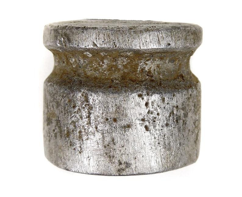 Kirdi Aluminum Lip Plug Ornament Cameroon Africa 127929