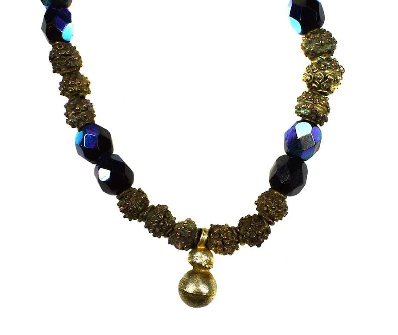 Yoruba Necklace Brass Africa 129272