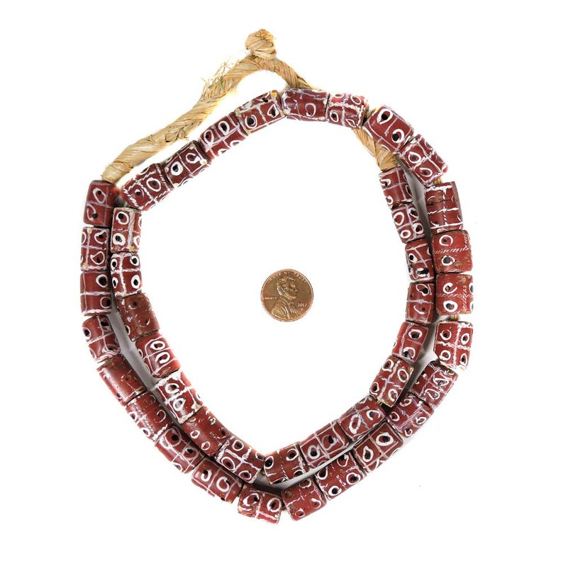 YR0047 7-7.5mm 7A grade strawberry quartz beads for bracelet pendant jewelry