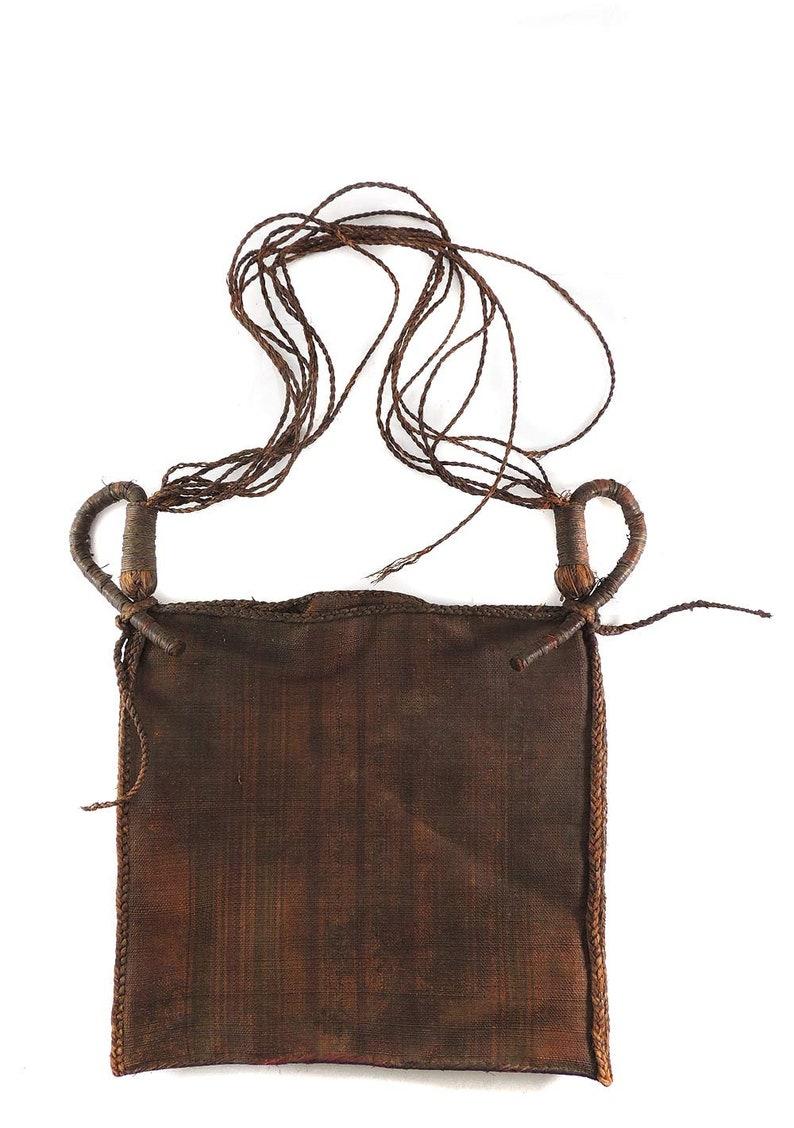 Bamun Raffia Prestige Bag Cameroon African Art 122049