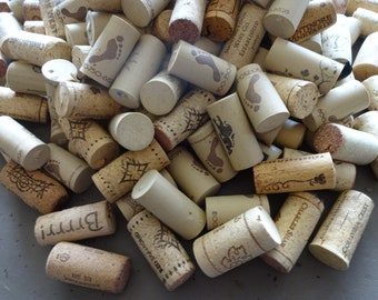 Wine Corks  Wreath Supplies  Art Supplies  Crafting Supplies Corks  230 Wine Corks