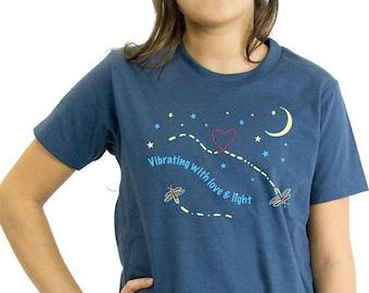 Phish Youth Shirt, Love & Light, Organic, Glows in the Dark!